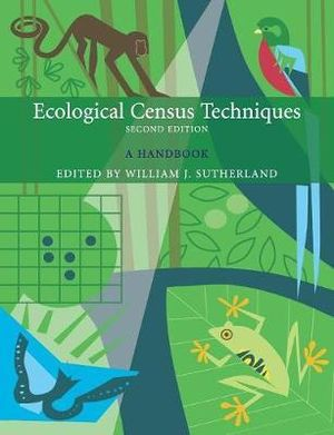 Cover of Ecological Census Techniques