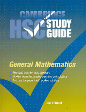 Cover of Cambridge HSC General Mathematics Study Guide
