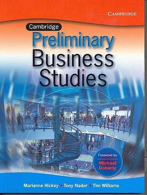 Cover of Cambridge Business Studies Preliminary