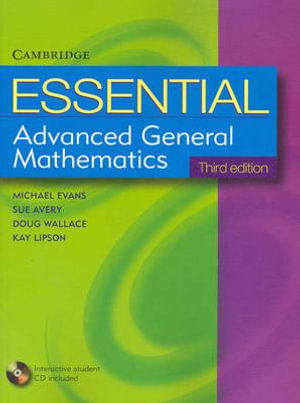 Cover of Essential Advanced General Mathematics with Student CD-ROM