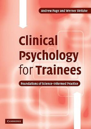 Cover of Clinical Psychology for Trainees