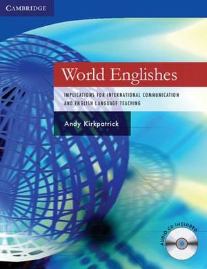 Cover of World Englishes Paperback with Audio CD