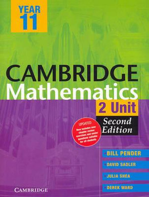 Cover of Cambridge 2 Unit Mathematics Year 11