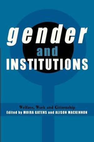 Cover of Gender and Institutions