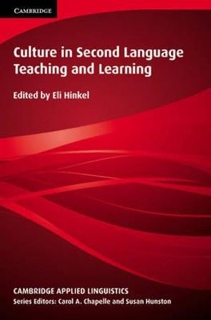 Cover of Culture in Second Language Teaching and Learning