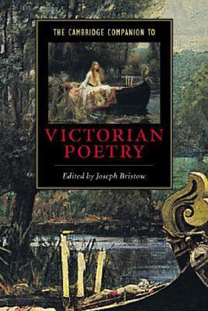 Cover of The Cambridge Companion to Victorian Poetry