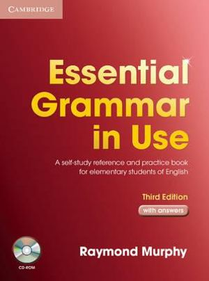 Cover of Essential Grammar in Use with Answers and CD-ROM Pack