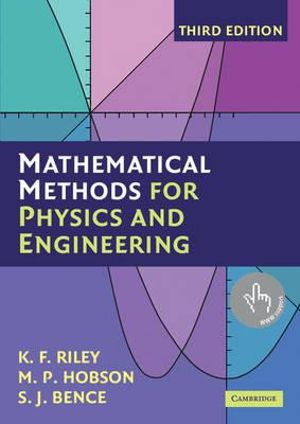 Cover of Mathematical Methods for Physics and Engineering