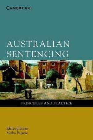 Cover of Australian Sentencing