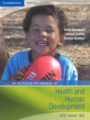 Cover of An Australian Perspective on Health and Human Development VCE Units 1 and 2