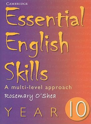 Cover of Essential English Skills Year 10