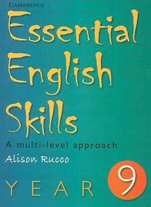 Cover of Essential English Skills Year 9