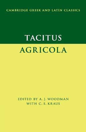 Cover of Tacitus: Agricola