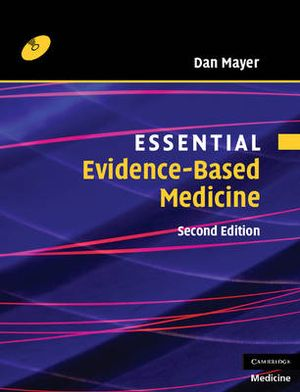 Cover of Essential Evidence-based Medicine with CD-ROM