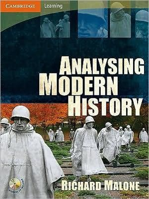 Cover of Analysing Modern History