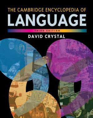 Cover of The Cambridge Encyclopedia of Language