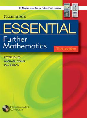 Cover of Cambridge Essential Further Mathematics