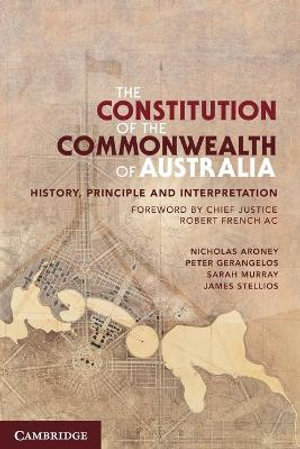 Cover of The Constitution of the Commonwealth of Australia