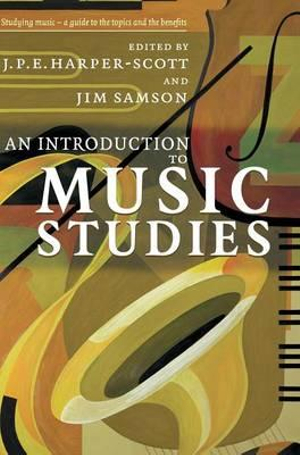Cover of An Introduction to Music Studies