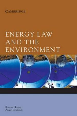 Cover of Energy Law and the Environment