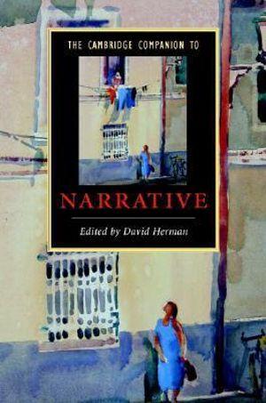 Cover of The Cambridge Companion to Narrative