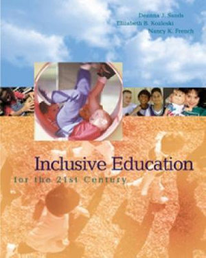 Cover of Inclusive Education for the Twenty-first Century
