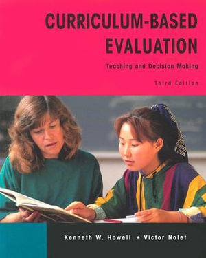 Cover of Curriculum-based Evaluation