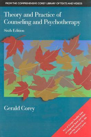 Cover of Theory and Practice of Counseling and Psychotherapy