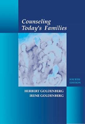 Cover of Counseling Today's Families