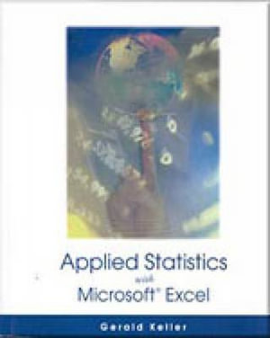 Cover of Applied Statistics with Microsoft Excel