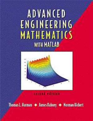 Cover of Advanced Engineering Mathematics Using Matlab