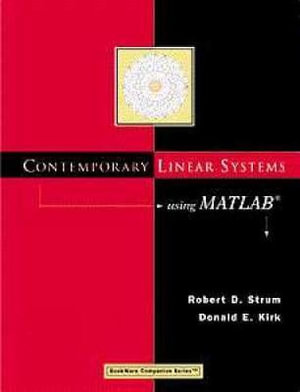 Cover of Contemporary Linear Systems Using MATLAB