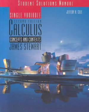 Cover of Single Variable Calculus