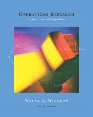 Cover of Operations Research : Applications and Algorithms (with CD-ROM and  InfoTrac )