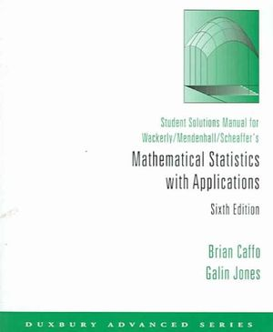 Mathematical Statistics 7th Edition Wackerly solution Manual free