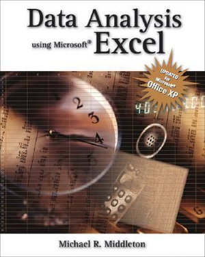 Cover of Data Analysis Using Microsoft Excel