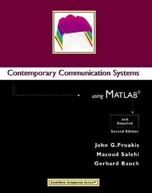 Cover of Contemporary Communication Systems Using MATLAB and Simulink