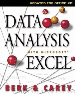 Cover of Data Analysis with Microsoft Excel