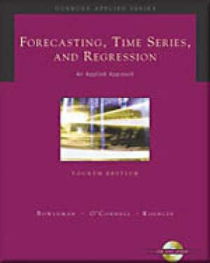 Cover of Forecasting, time series, and regression