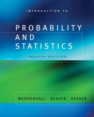 Cover of Introduction to Probability and Statistics
