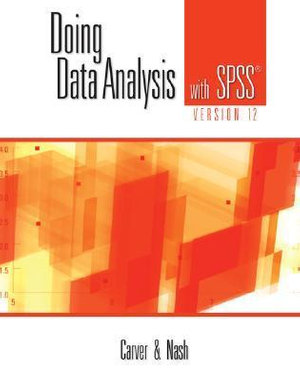 Cover of Doing Data Analysis with SPSS Version 12.0