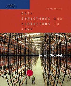 Cover of Data Structures and Algorithms in Java