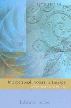 Cover of Interpersonal process in therapy