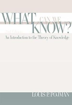 Cover of What Can We Know?