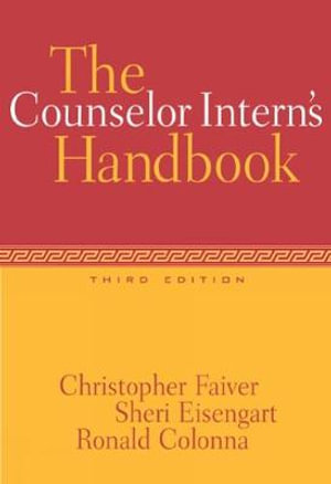 Cover of The Counselor Intern's Handbook