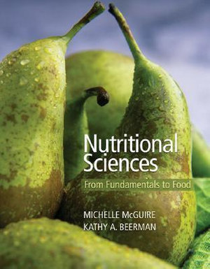 Cover of Nutritional Sciences: From Fundamentals to Food