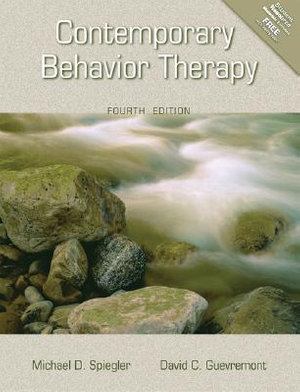 Cover of Contemporary Behavior Therapy
