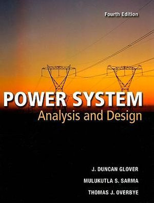 Cover of Power Systems Analysis and Design