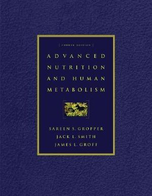 Cover of Advanced Nutrition and Human Metabolism