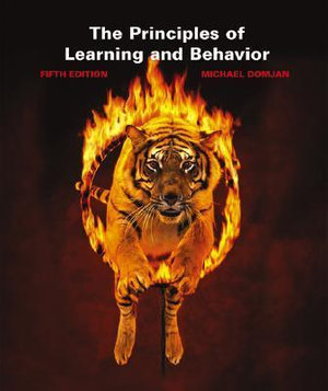 Cover of The Principles of Learning and Behavior